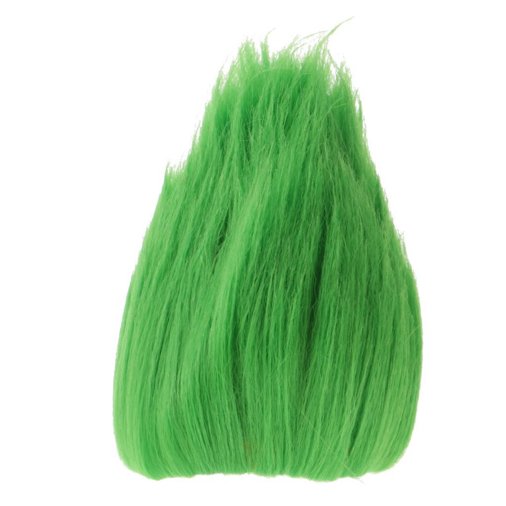 Straight-Gradient-Curly-Hair-Wig-for-18-039-039-Doll-Dress-up-Accessory thumbnail 29