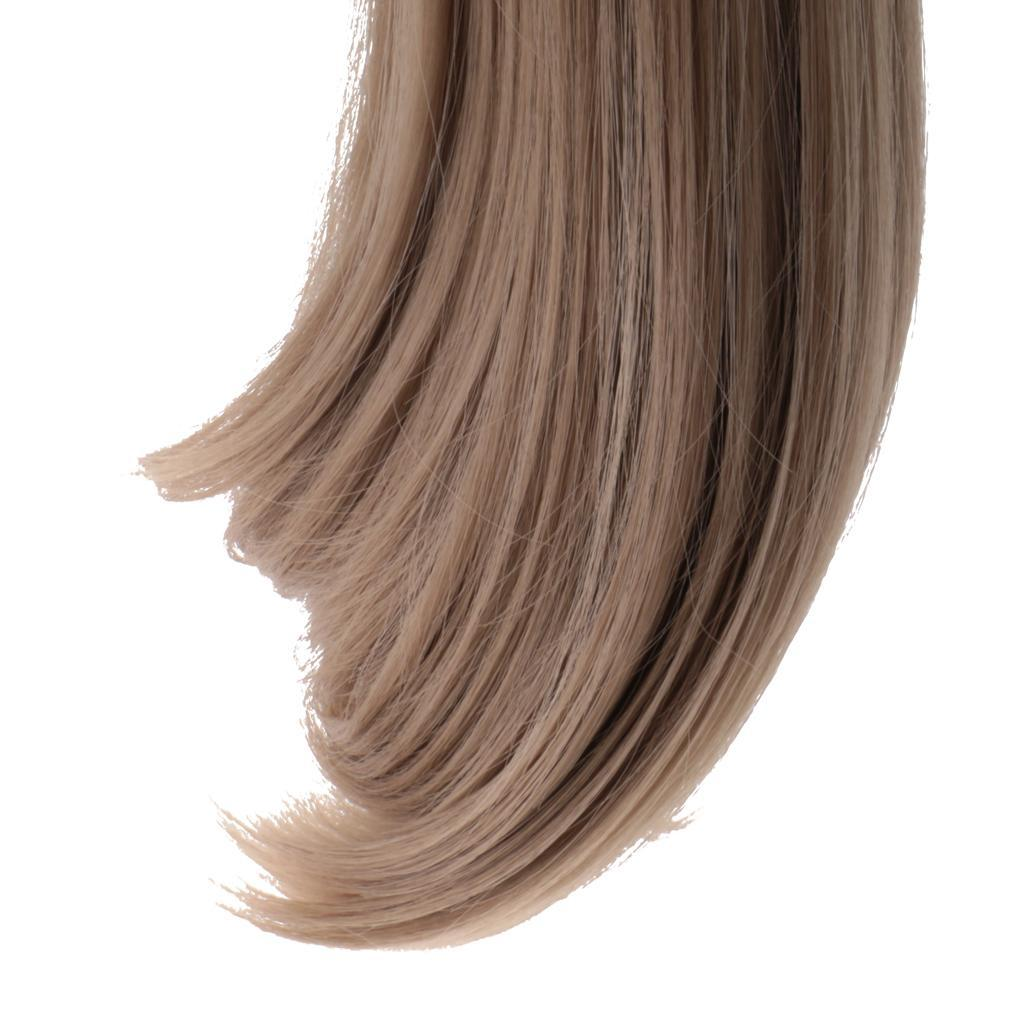 Straight-Gradient-Curly-Hair-Wig-for-18-039-039-Doll-Dress-up-Accessory thumbnail 67
