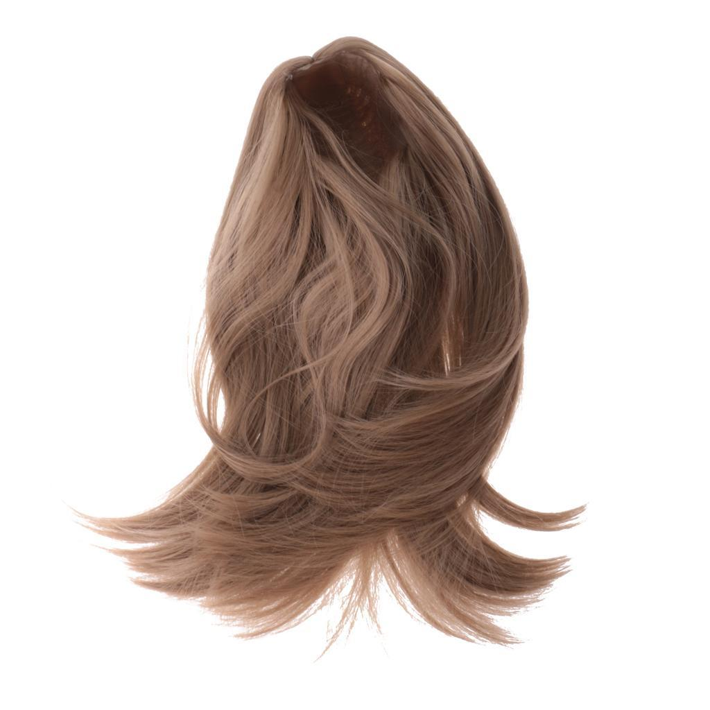 Straight-Wavy-Curly-Hair-Wig-for-18-039-039-Dolls-Clothes-Accessories thumbnail 65