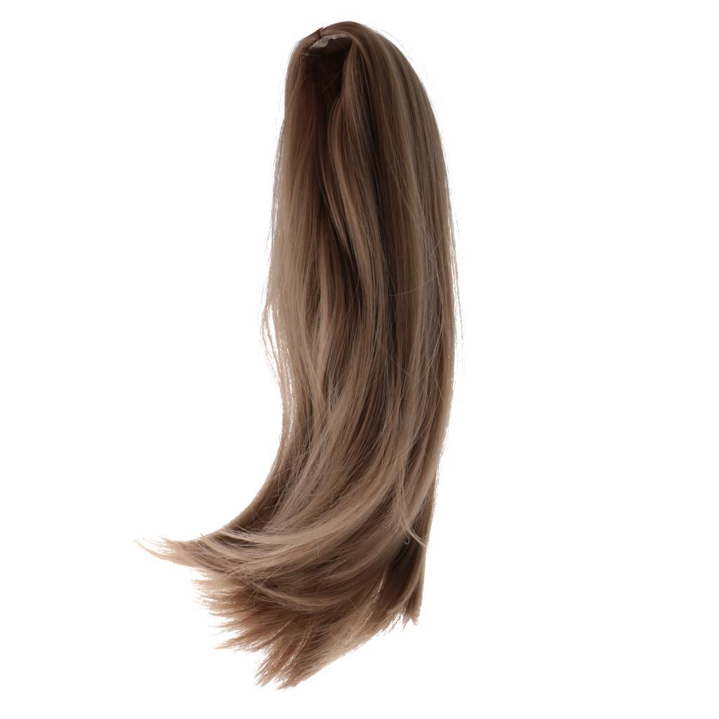Straight-Gradient-Curly-Hair-Wig-for-18-039-039-Doll-Dress-up-Accessory thumbnail 66