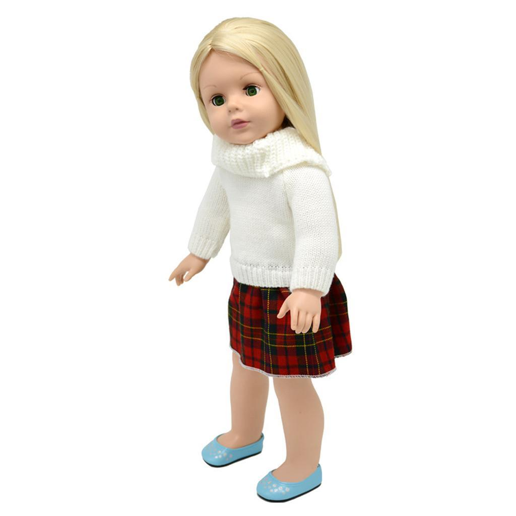 For-18-039-American-Doll-Doll-Generation-Doll-Clothes-Pajamas-Swimwear-Bikini-Shirt miniature 25