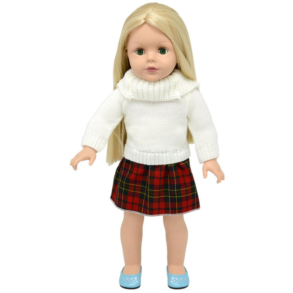 For-18-039-American-Doll-Doll-Generation-Doll-Clothes-Pajamas-Swimwear-Bikini-Shirt miniature 23