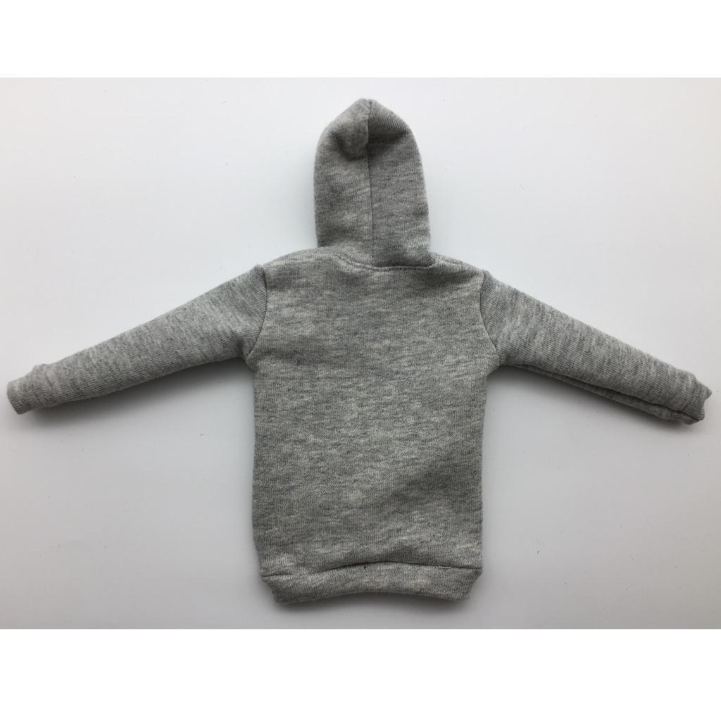 1-6-Scale-Mens-Long-Hoodie-Hooded-Sweatshirt-for-12inch-Action-Figure-Hot-Toys miniature 3
