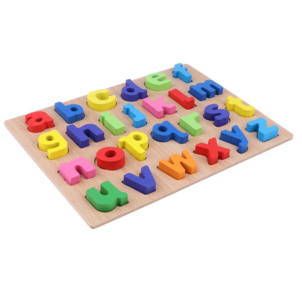 Wooden Montessori Educational Kids Toy Puzzle Math Number ...