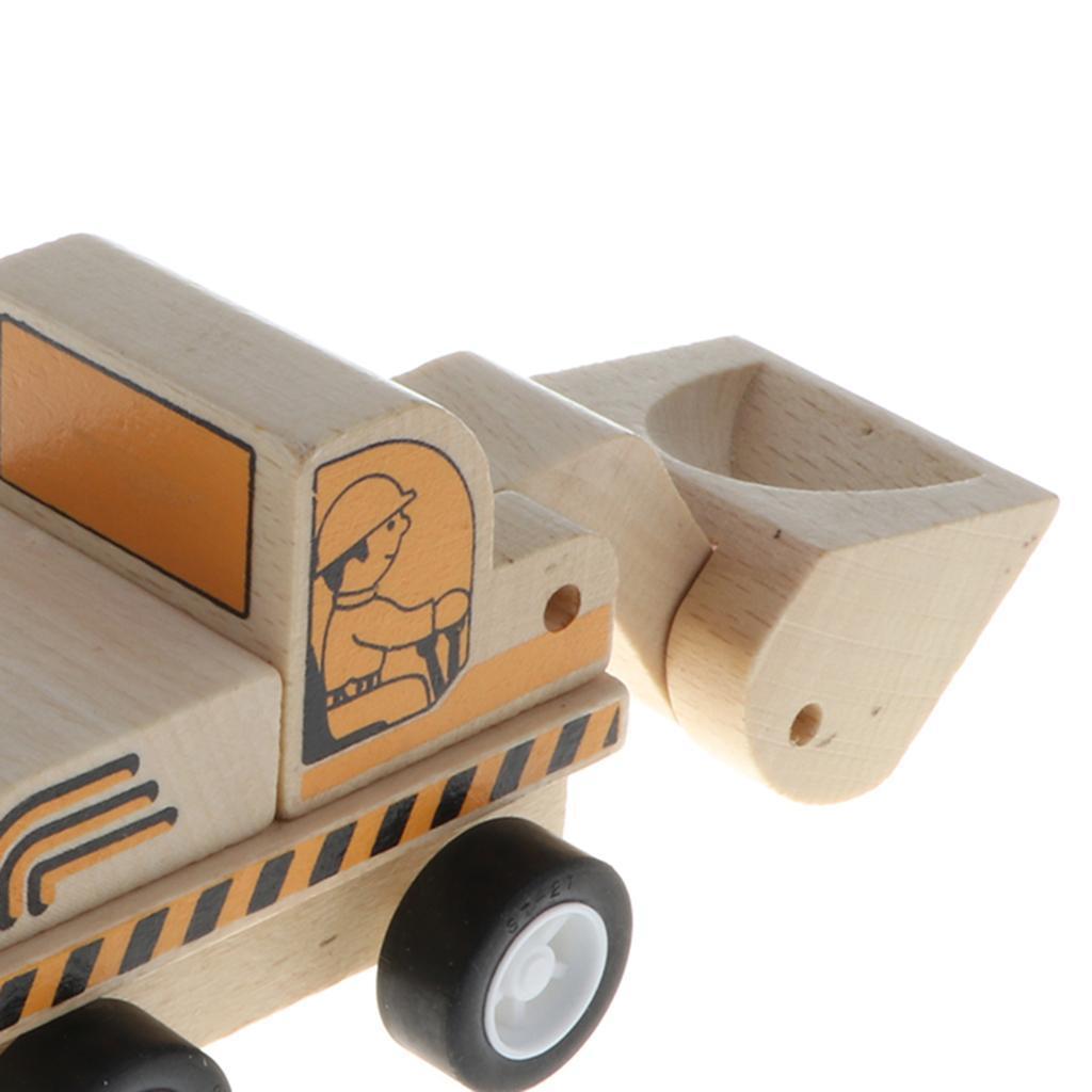miniature 10 - Puzzle 3D Camion de Génie Jouet Montage en Bois Vehicule Simulation
