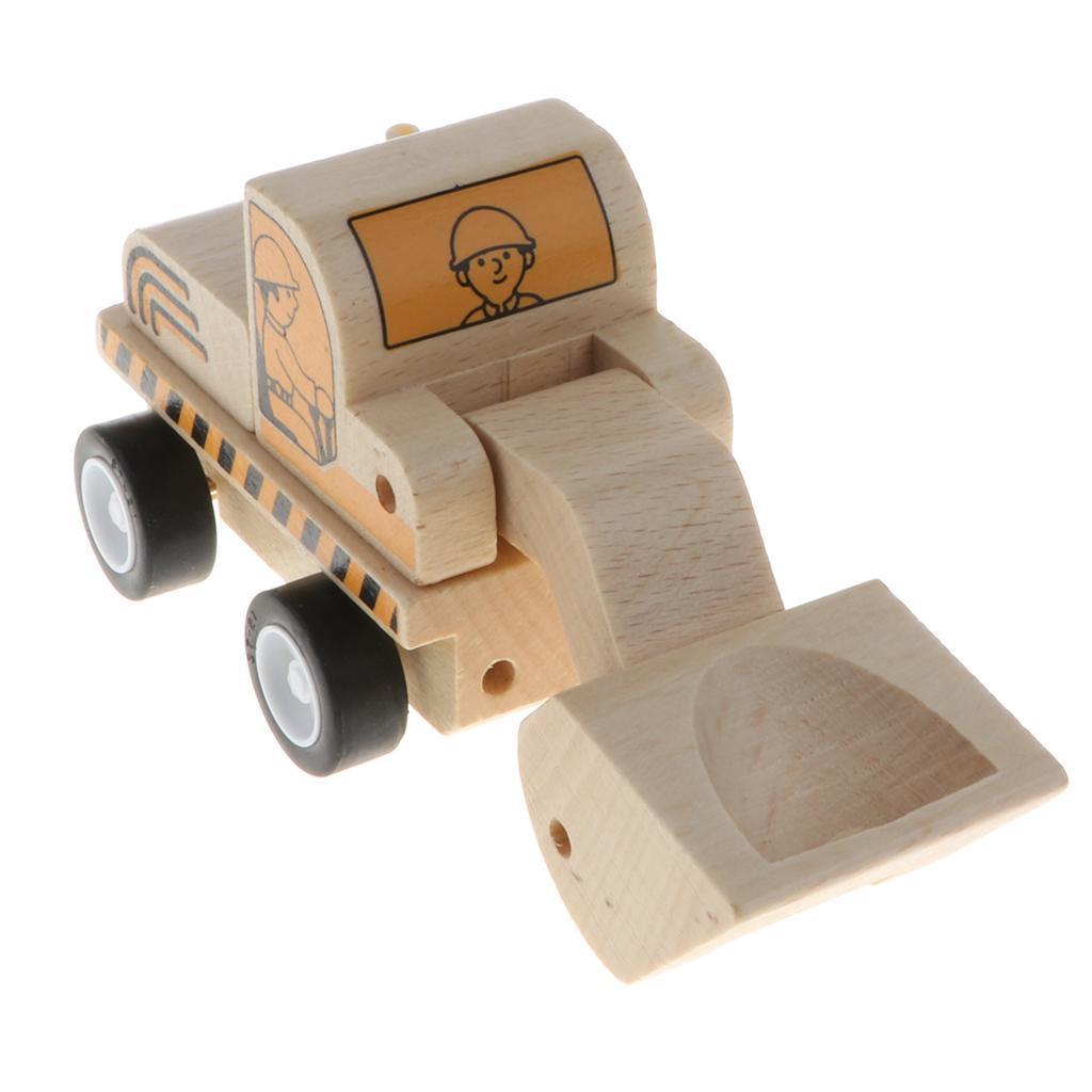miniature 12 - Puzzle 3D Camion de Génie Jouet Montage en Bois Vehicule Simulation