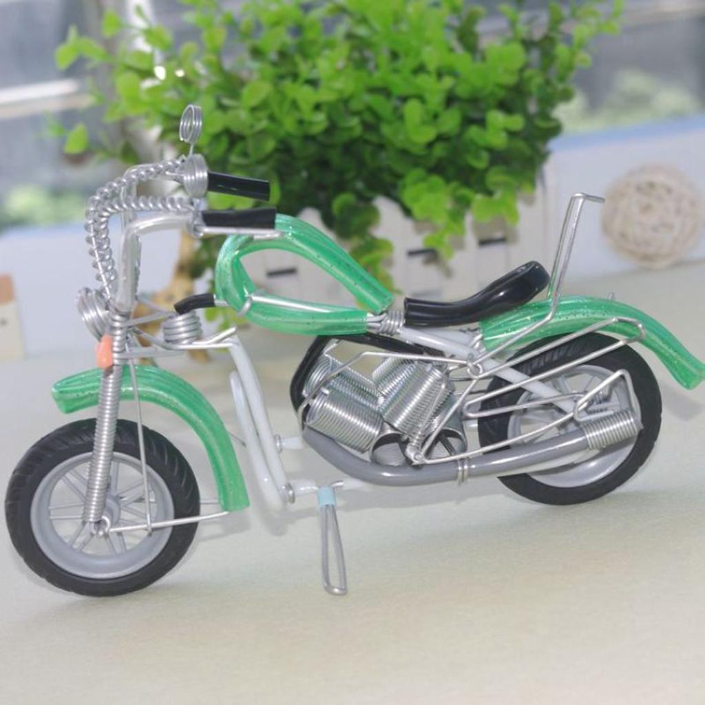 miniatura 8 - Giocattolo Di Simulazione Del Motociclo Regalo Di Compleanno In Miniatura In