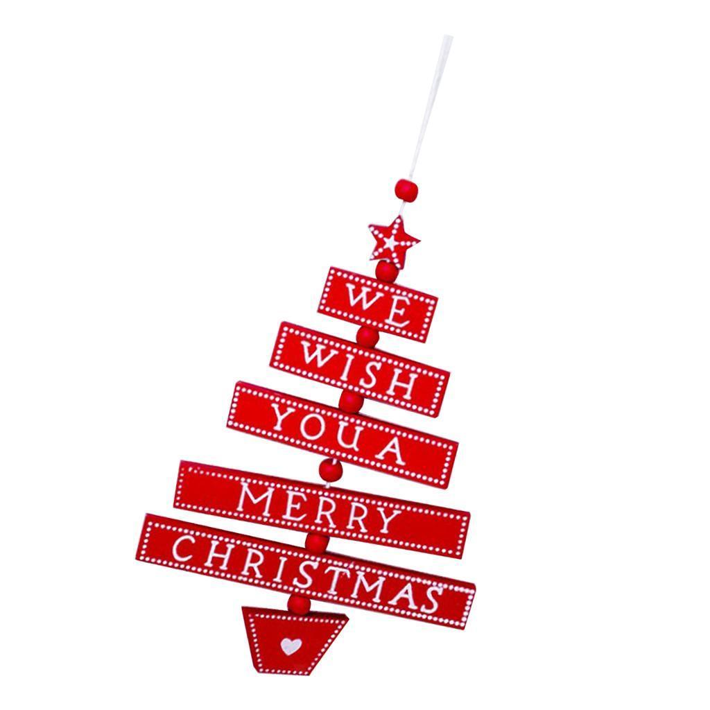 Natale-di-scrittura-del-messaggio-di-Natale-del-partito-dell-039-albero-di-forma miniatura 14
