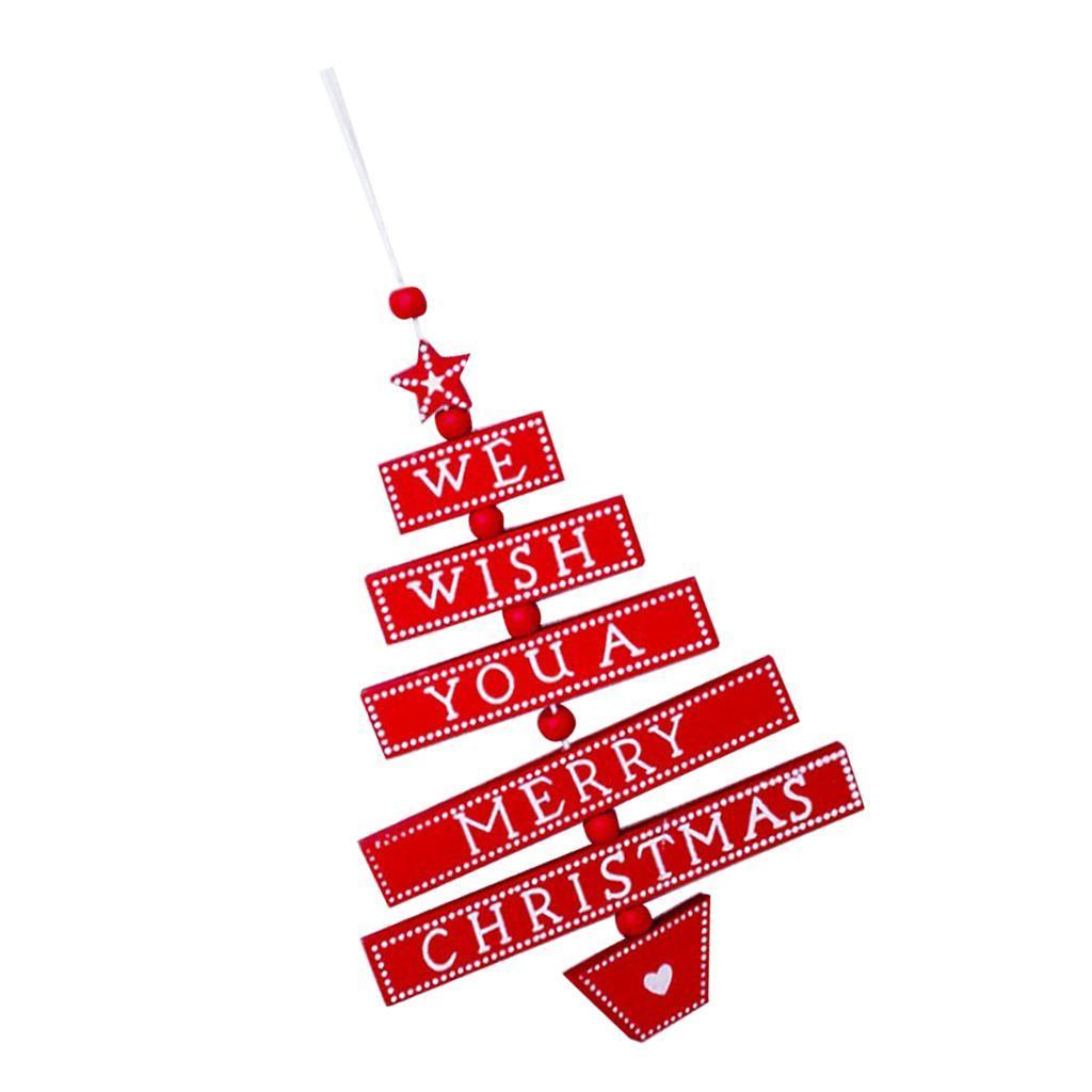 Natale-di-scrittura-del-messaggio-di-Natale-del-partito-dell-039-albero-di-forma miniatura 15