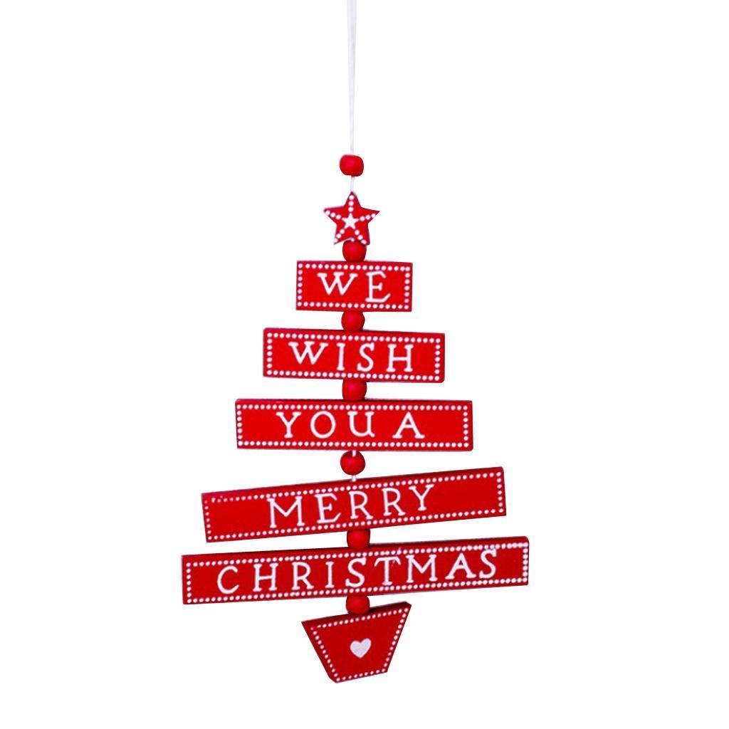 Natale-di-scrittura-del-messaggio-di-Natale-del-partito-dell-039-albero-di-forma miniatura 13