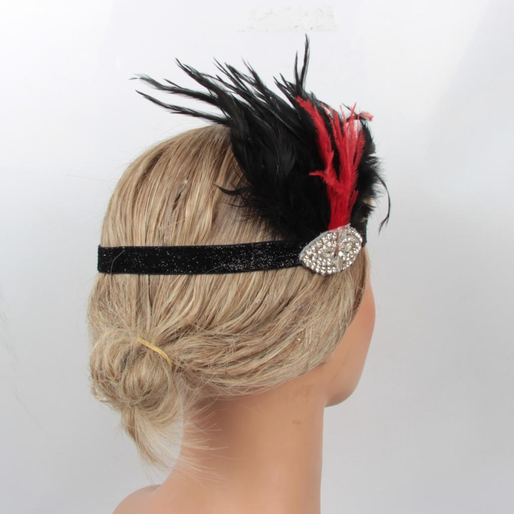 2016 the Olympic Games Party Costume Head Piece Hair Flapper Feather Headband
