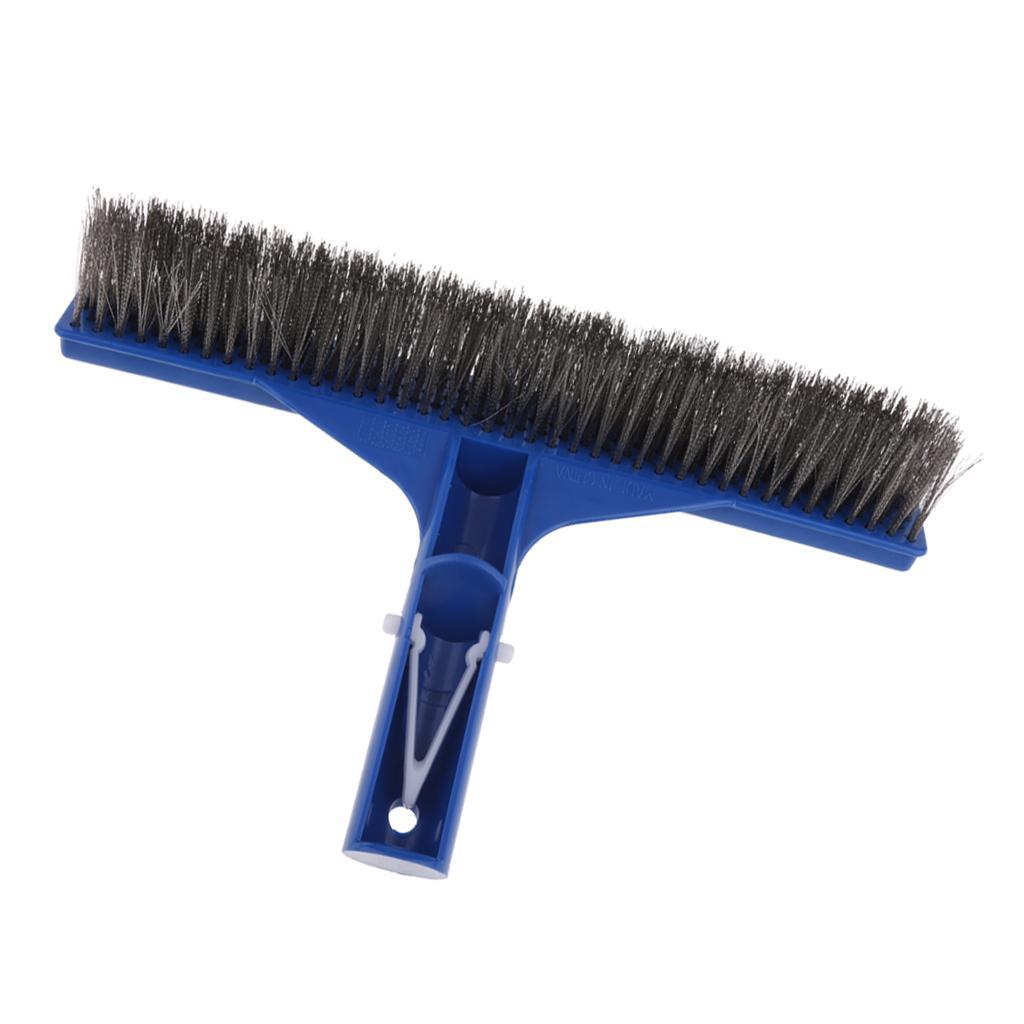 "18/"" Aluminum Swimming Pool Spa Algae Brush Head Heavy Duty Broom Clean Tool"