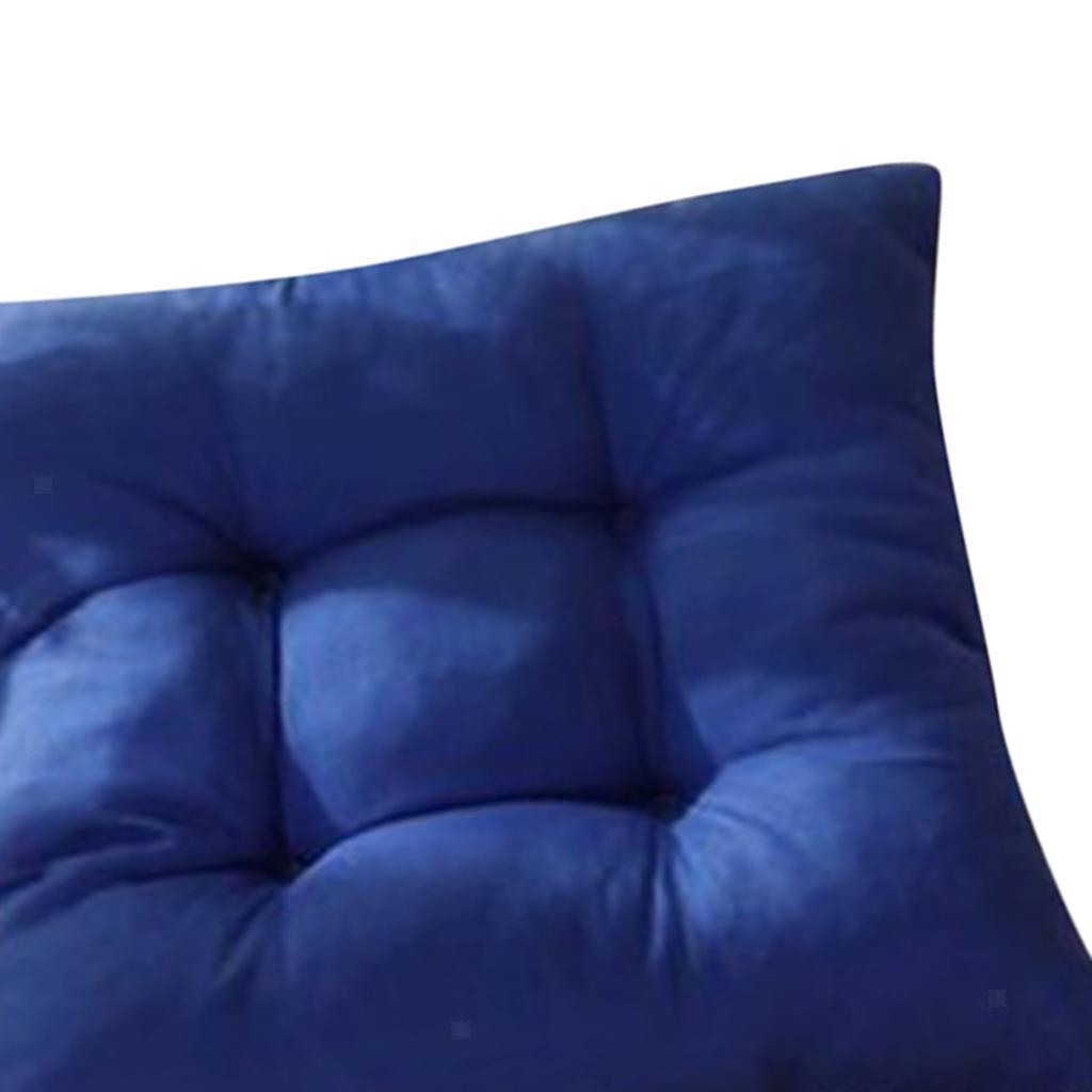 thumbnail 16 - Square-Chair-Cushion-Cushion-Pillow-for-Home-Office-14-Colors-40x40cm