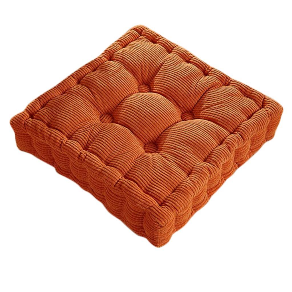Chair Cushion Seat Pad Corduroy Home Dining Kitchen Office