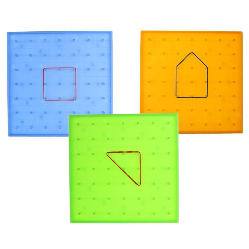 1pc-Plastic-Nail-Plate-Mathematics-Nailboard-Tool-for-Kids-Educational-Toys thumbnail 4