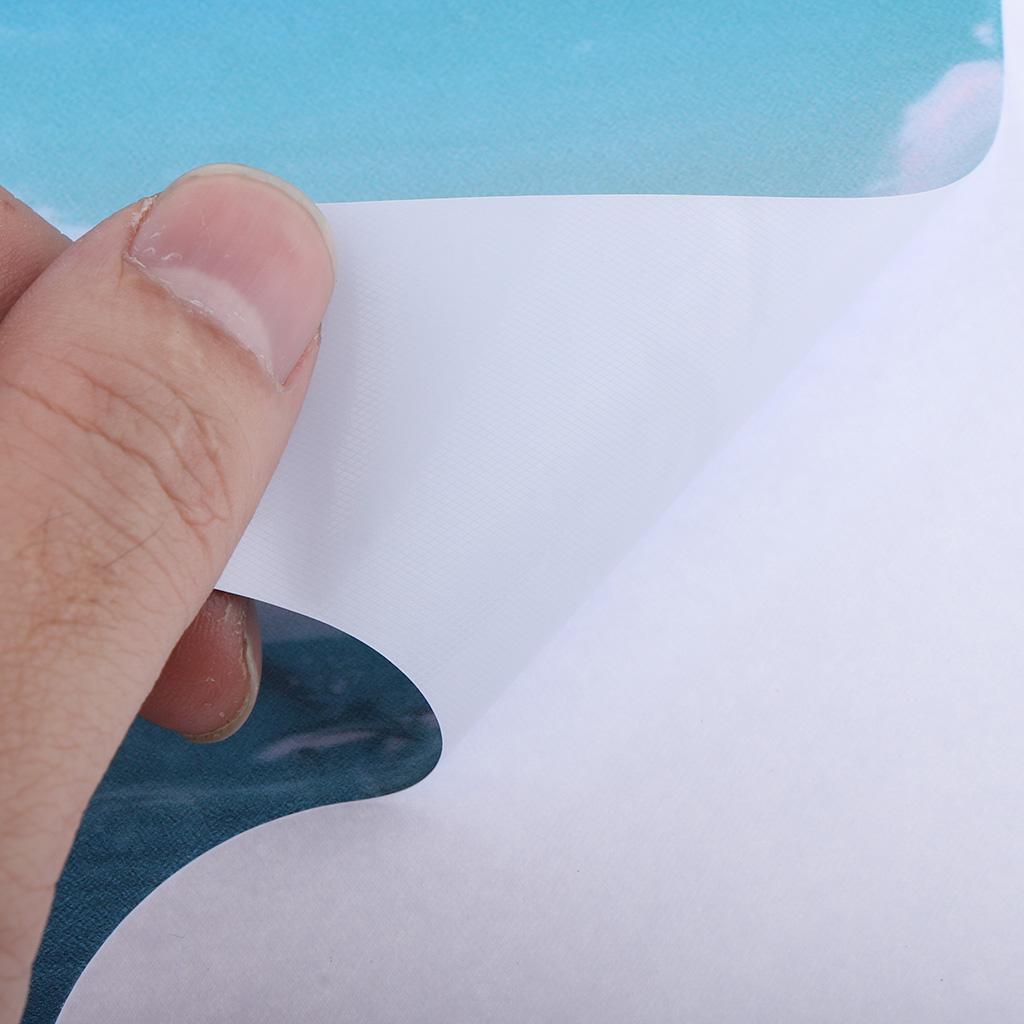 Asciugacapelli-Adesivi-in-PVC-Resistente-All-039-acqua-Materiale-in-Carta miniatura 16