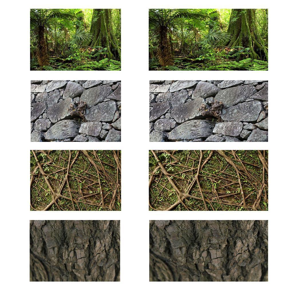 Adesivo-Acquario-Sfondo-Poster-Decorazione-per-Serbatoio-da-Pesce miniatura 5