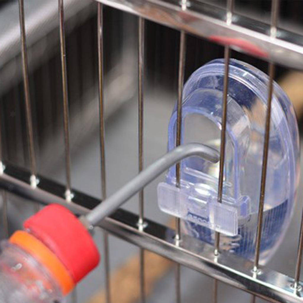 miniatura 5 - Mangiatoia-per-uccelli-che-appende-ciotola-di-cibo-acrilico