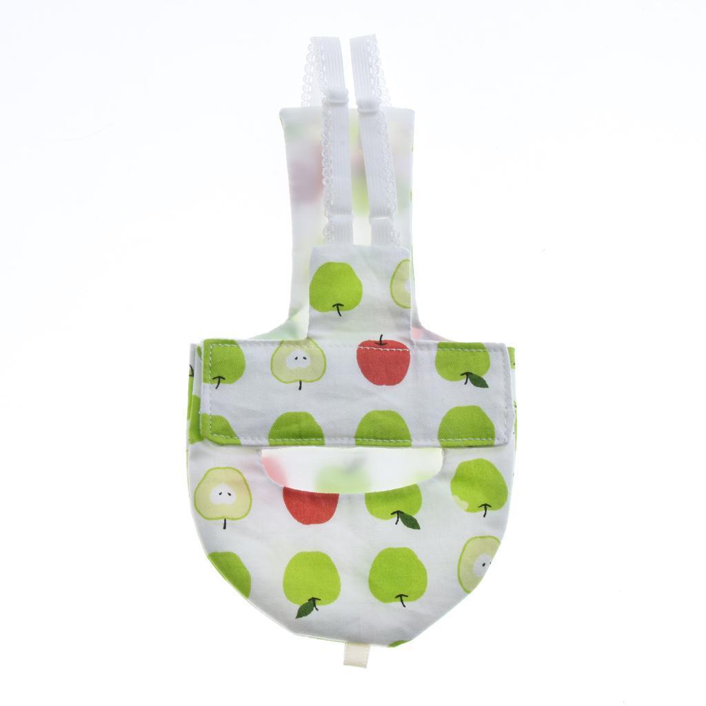 Pappagallo-tessuto-sanitario-di-strato-pappagallo-igienico-riutilizzabile miniatura 5