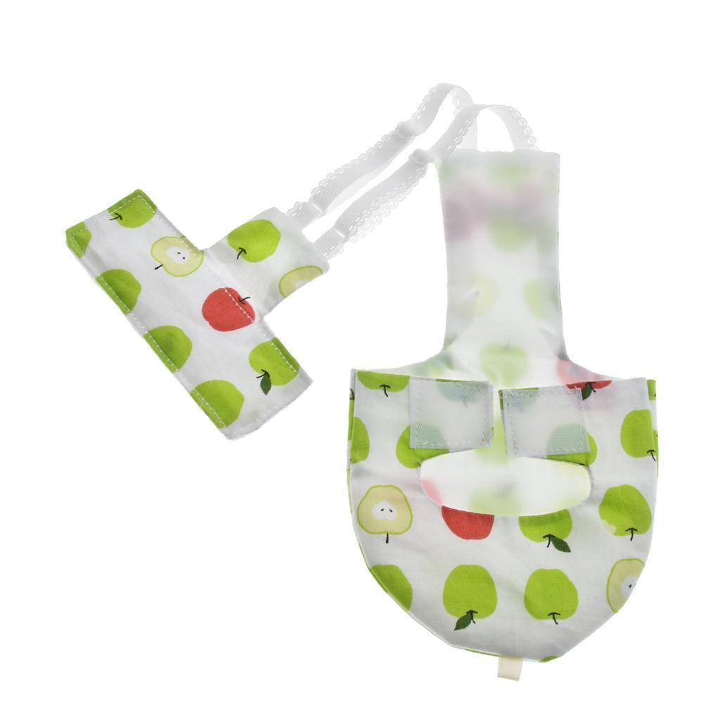 Pappagallo-tessuto-sanitario-di-strato-pappagallo-igienico-riutilizzabile miniatura 3