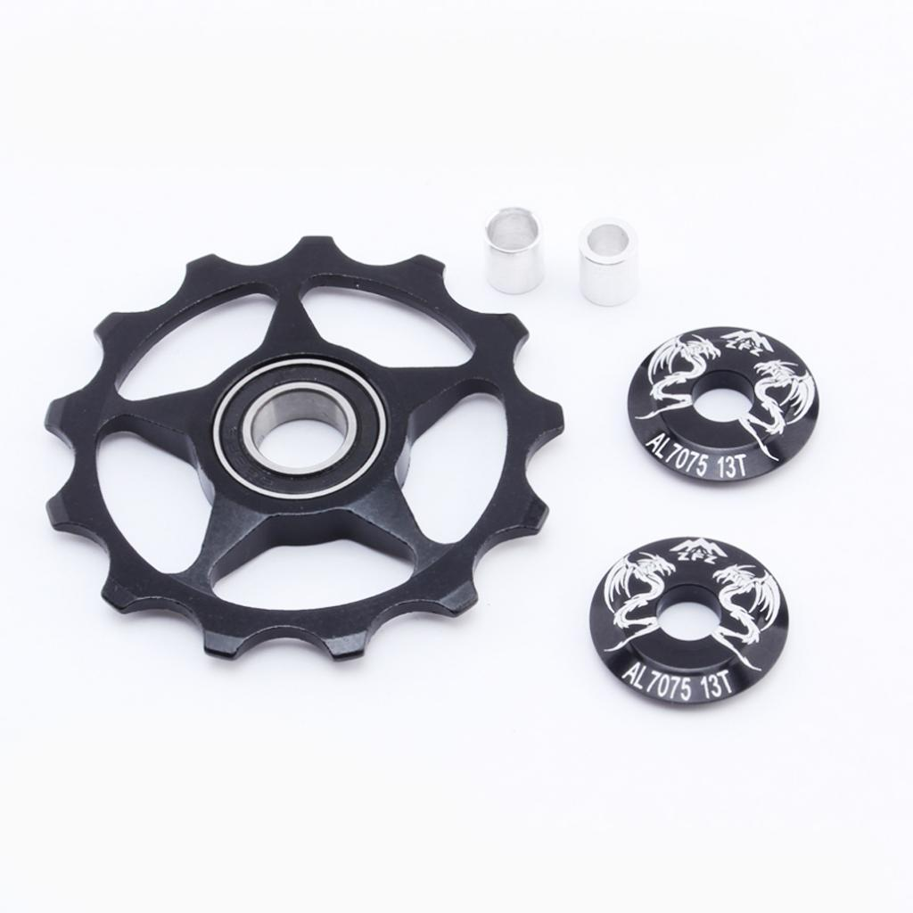 13T Tooth Guide Wheel Cycling Jockey Wheel Bicycle Rear Derailleur Pulley