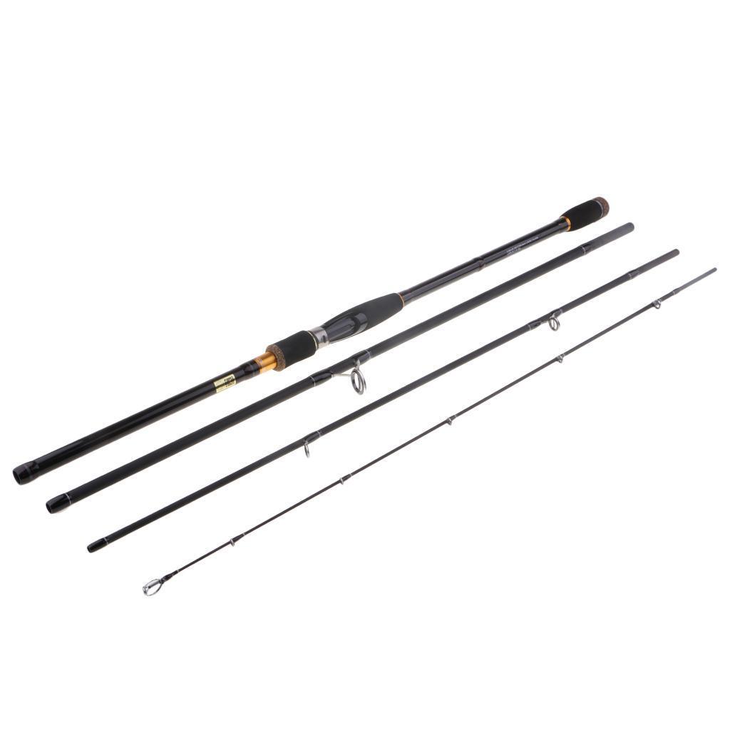 4-Pezzi-Canna-Da-Spinning-Canna-Da-Pesca-In-Fibra-Di-Carbonio-3-0m miniatura 16