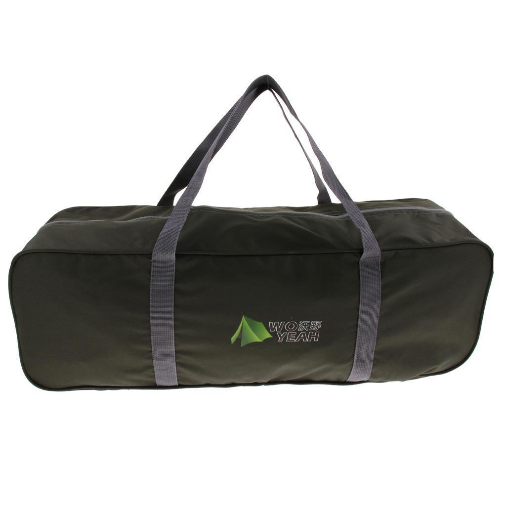 2x Large Capacity Waterproof Oxford Duffel Bag Camping