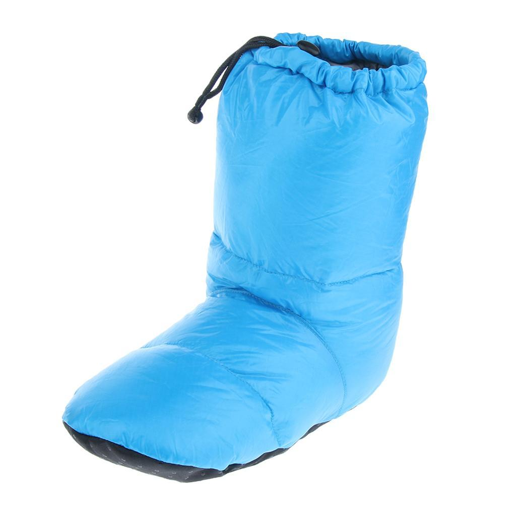 2x Winter Down Warm Indoor Mid Bootie Socks Slippers for ...
