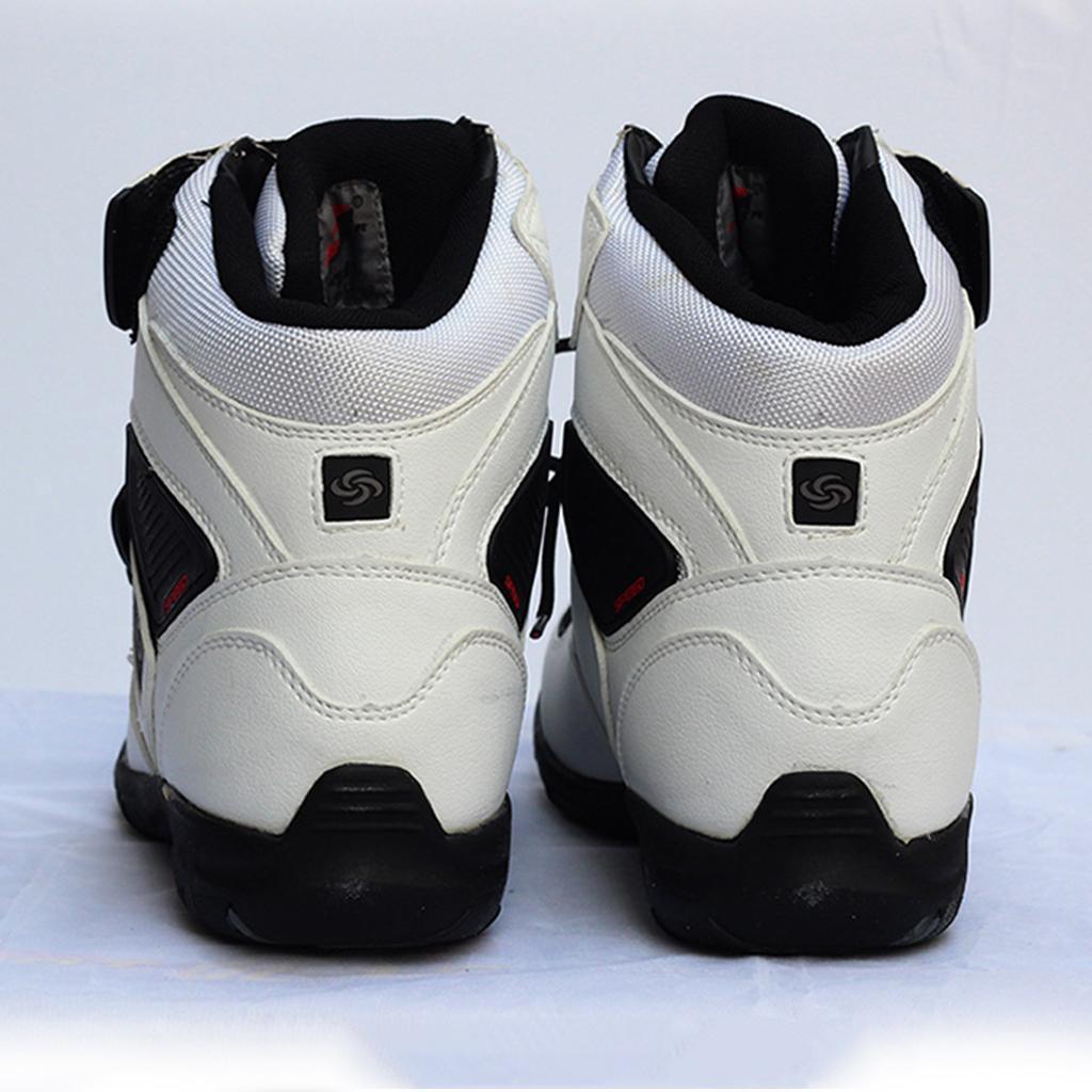 paio-di-scarpe-sportive-da-corsa-per-moto-da-corsa-impermeabili miniature 27