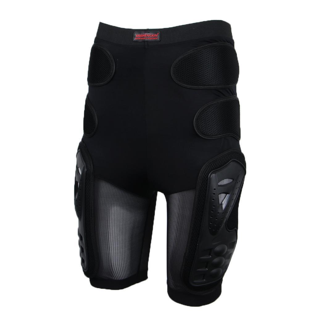 Moto-Racing-Ski-Armour-Tampons-Hanches-Jambes-Protecteur-Shorts-Pantalons miniature 13