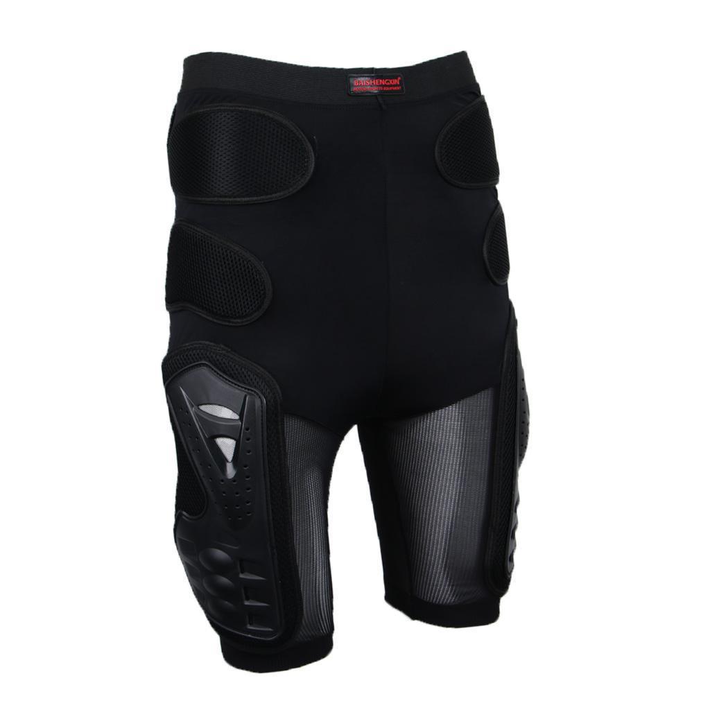 Moto-Racing-Ski-Armour-Tampons-Hanches-Jambes-Protecteur-Shorts-Pantalons miniature 15
