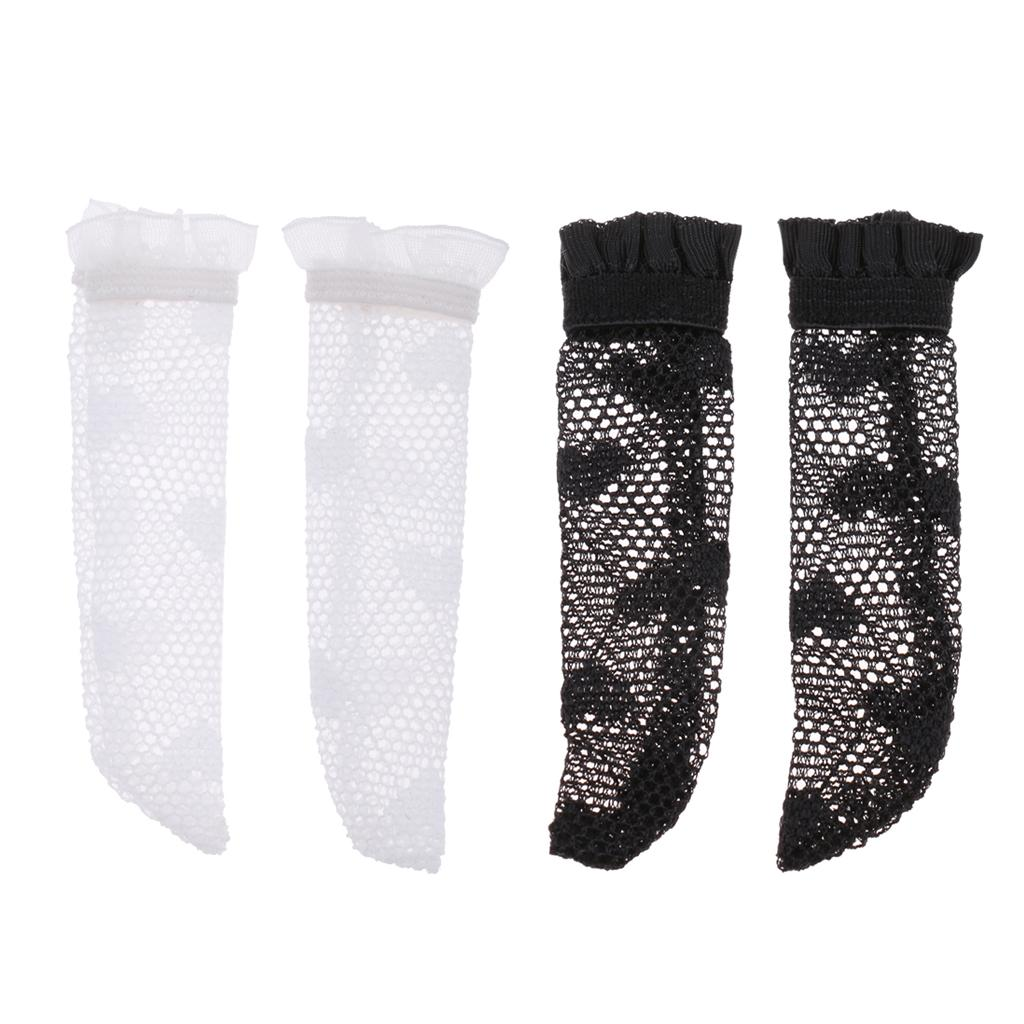 3Pairs Cute BJD Lace Socks for 1//6 Dollfie BB Ball Joint Dolls Accessories White