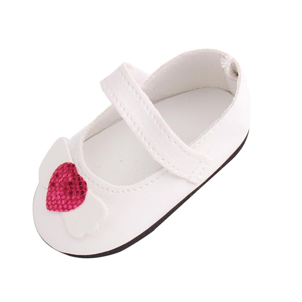 Poupee-Chaussure-Pour-18-Pouces-Fille-Americaine-Cadeaux-de-Noel miniature 12