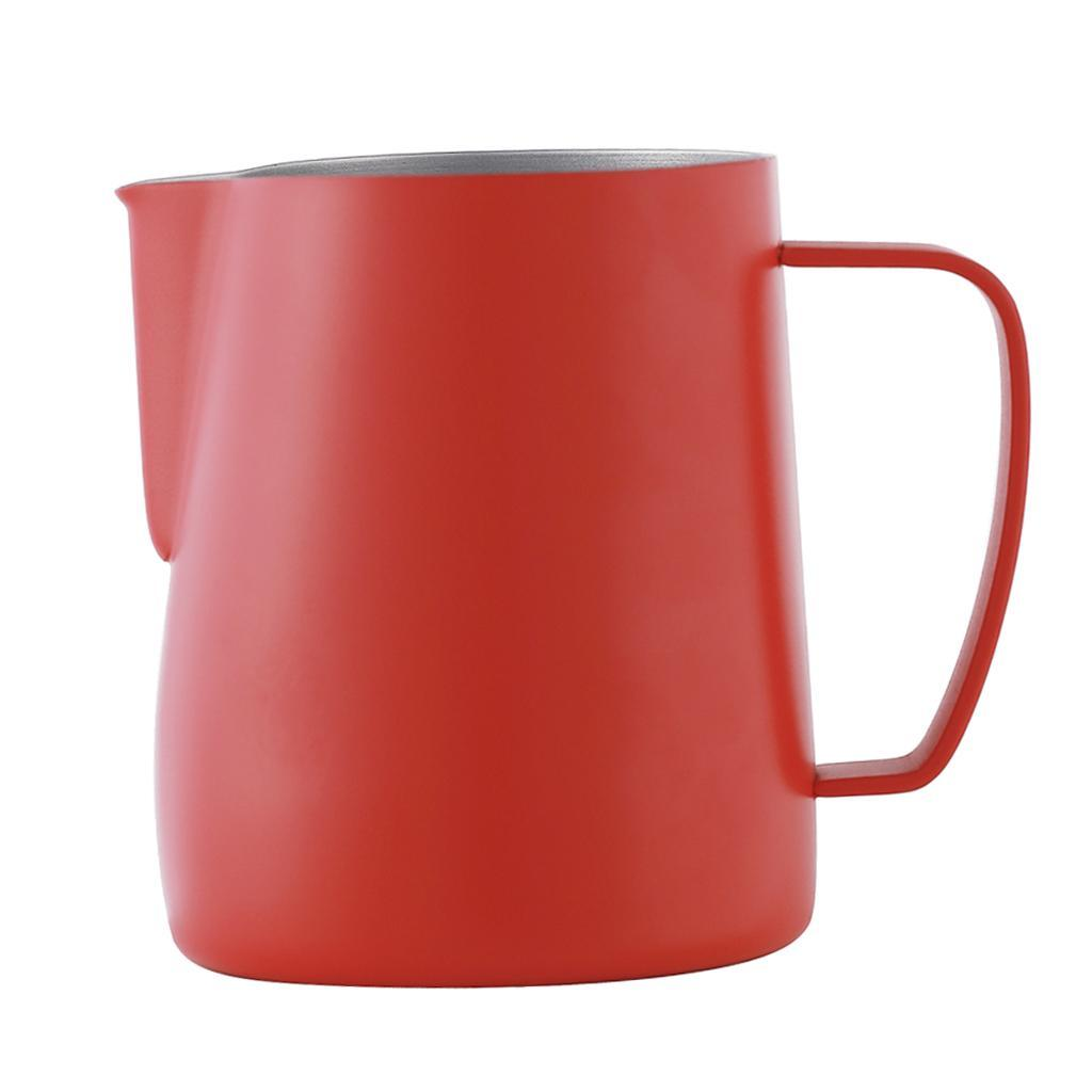 Milk-Pitcher-Stainless-Steel-Cup-Frothing-Pitcher-Jug-Coffee-Latte-600ml thumbnail 17