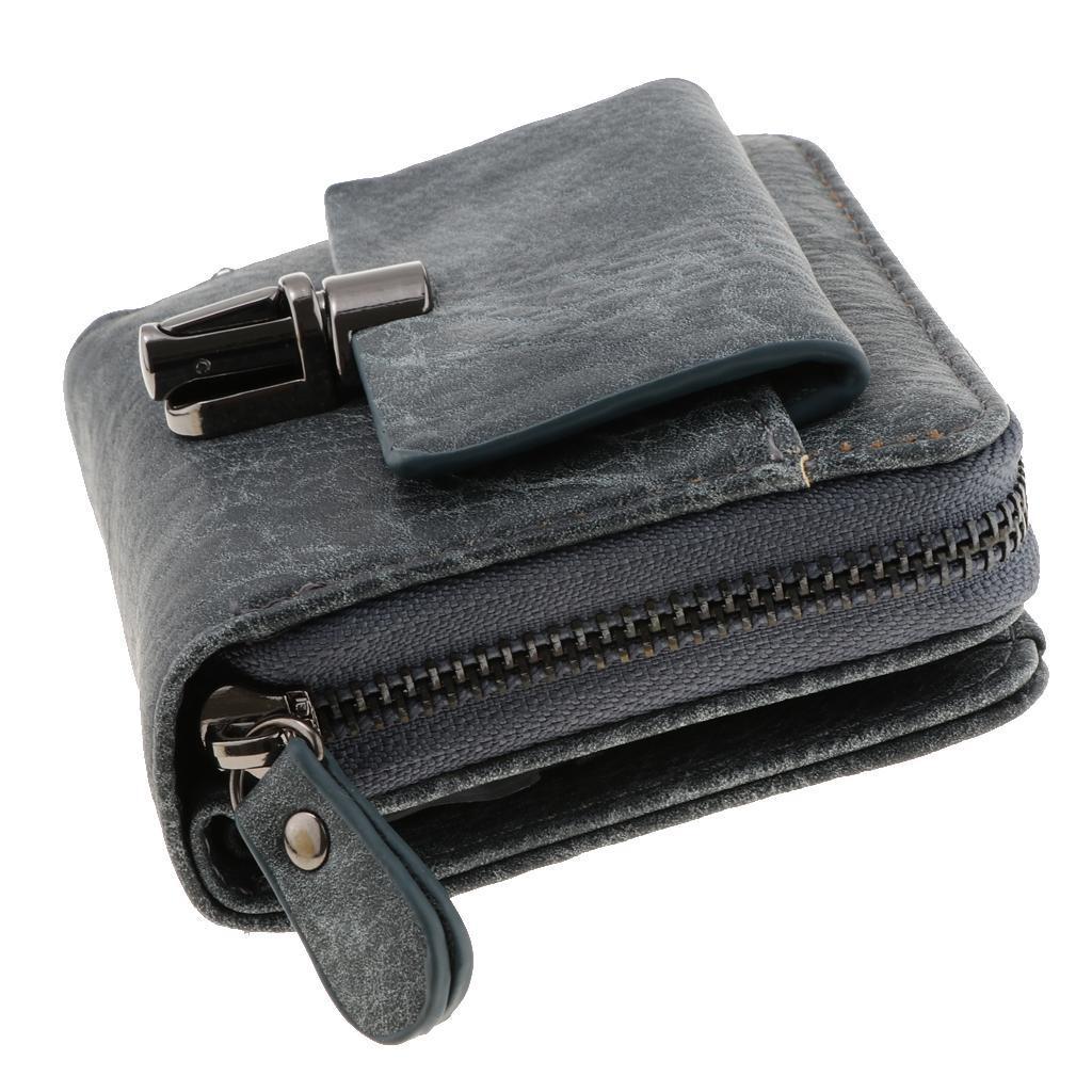 Portafoglio-da-donna-in-pelle-con-fermasoldi-Porta-carte-di-credito-da-donna miniatura 10