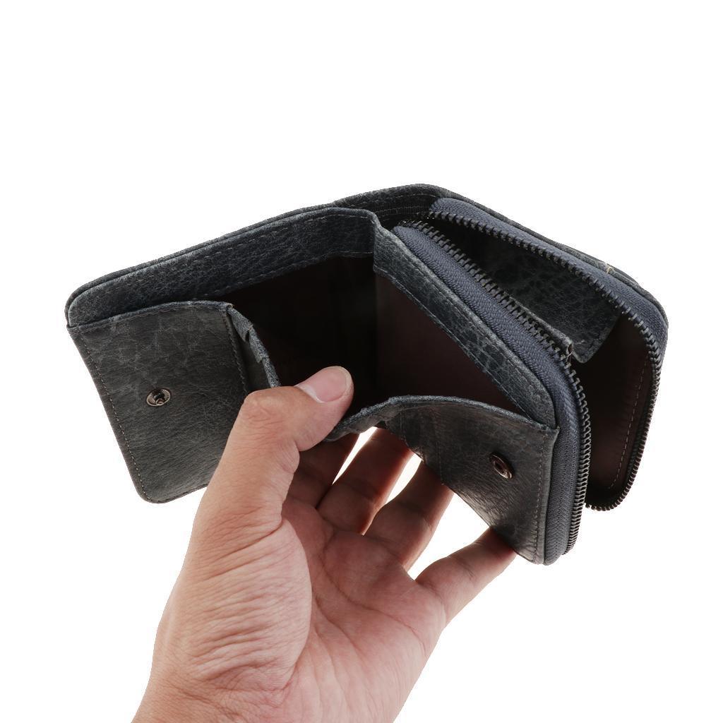 Portafoglio-da-donna-in-pelle-con-fermasoldi-Porta-carte-di-credito-da-donna miniatura 8