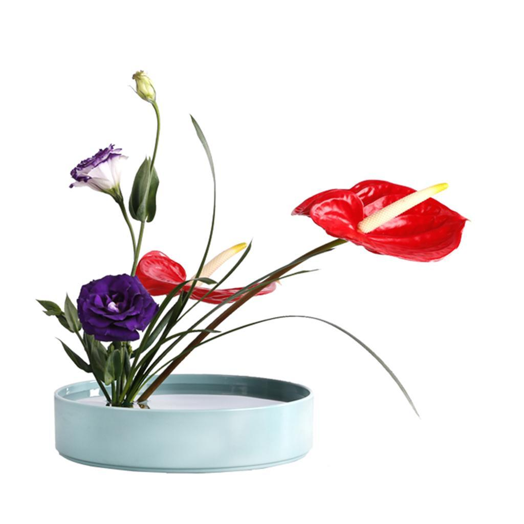 Japanese-Ikebana-Vase-for-Every-Season-Flower-Arrangements-Suiban-Pot-Tray thumbnail 29