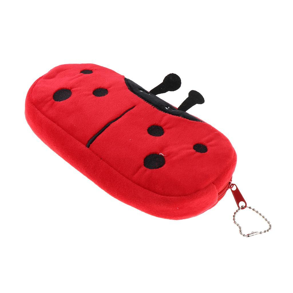 Pencil-Pouch-Plush-Stationery-Bag-Animal-Cosmetic-Bags-School-Supplies thumbnail 22