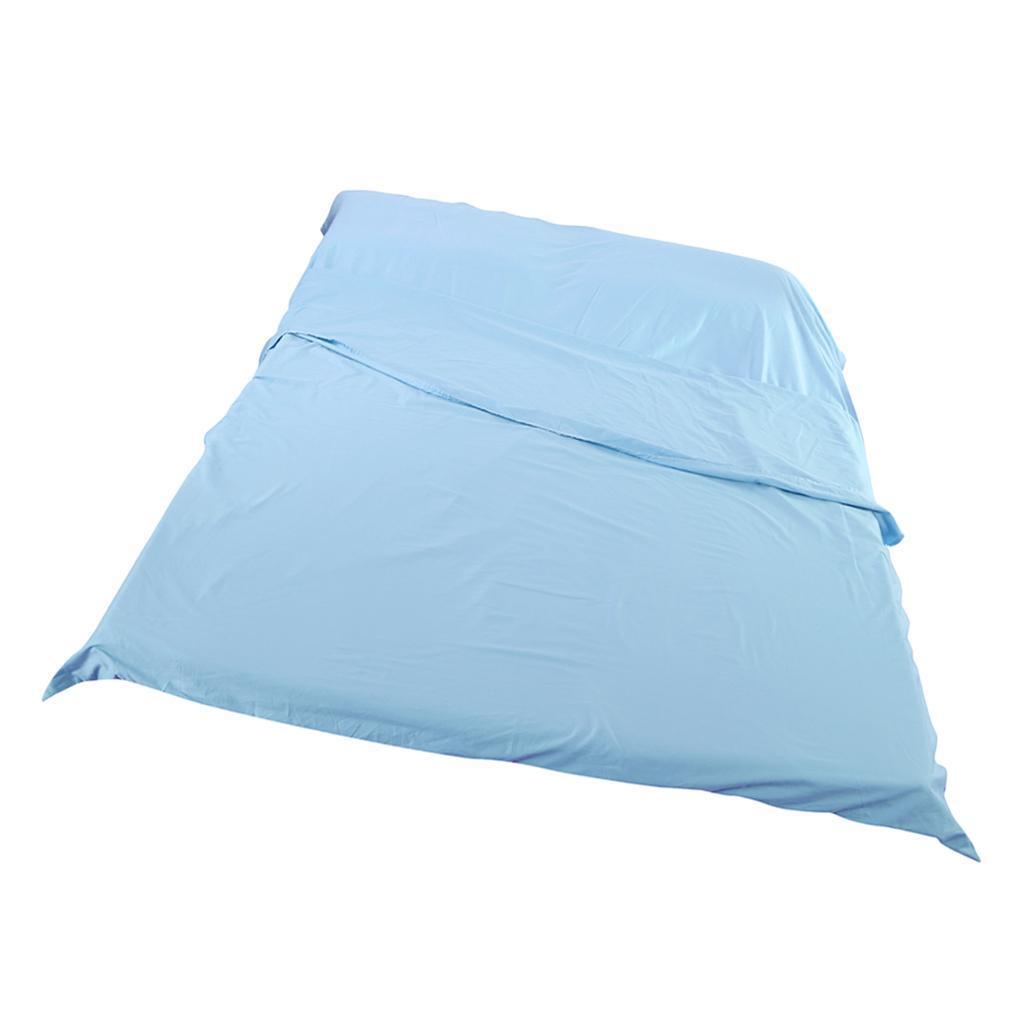 Lenzuolo-Per-Dormire-In-Sacchi-A-Pelo-Per-Letto-Da-Viaggio miniatura 16
