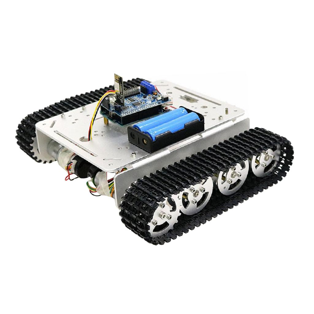 DIY WIFI robot chassis   piattaforma   chassis + motore + controller + wheel