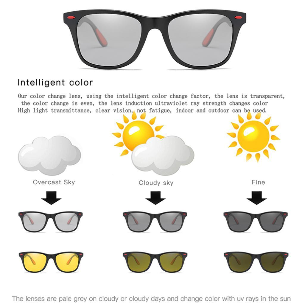 Occhiali-sportivi-Occhiali-da-sole-Occhiali-Accessori-uomo-polarizzati miniatura 10