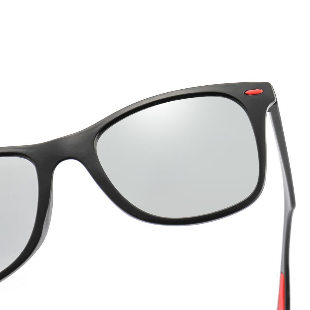 Occhiali-sportivi-Occhiali-da-sole-Occhiali-Accessori-uomo-polarizzati miniatura 11