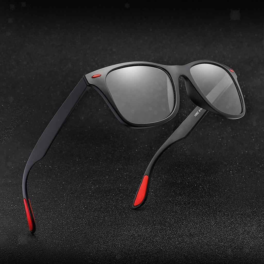 Occhiali-sportivi-Occhiali-da-sole-Occhiali-Accessori-uomo-polarizzati miniatura 8