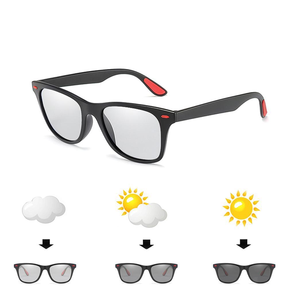 Occhiali-sportivi-Occhiali-da-sole-Occhiali-Accessori-uomo-polarizzati miniatura 9