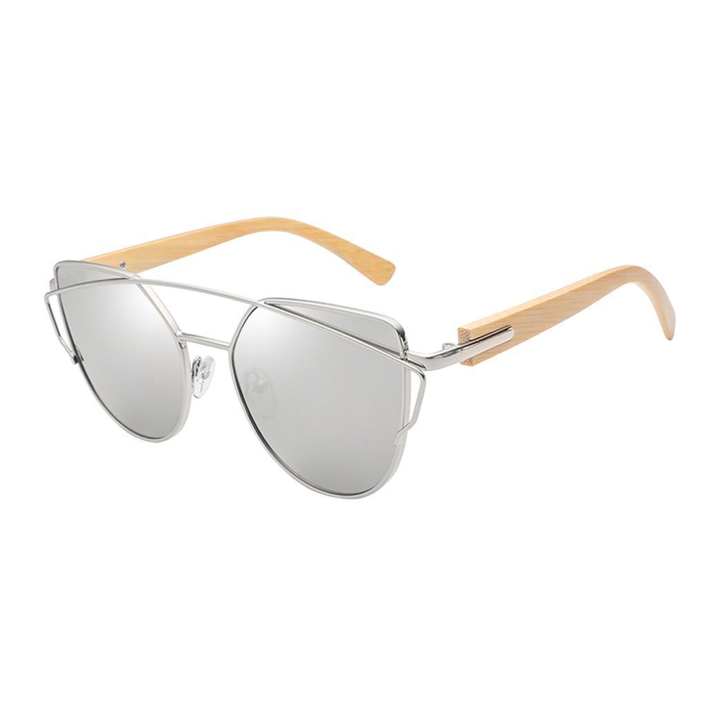 uomo-donna-moda-in-legno-uv-400-lenti-piatte-occhiali-da-sole-con-gambe-di miniatura 23