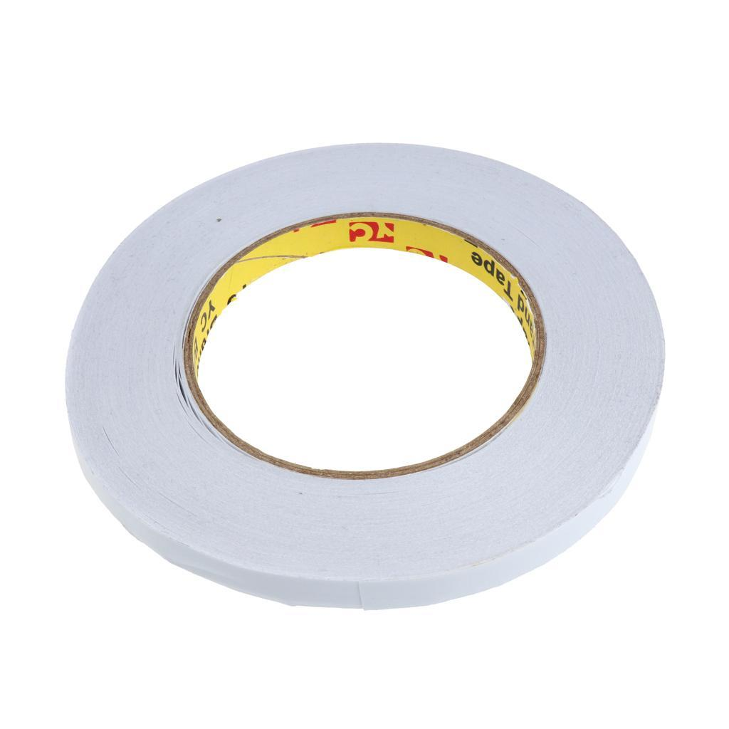 50m Super Strong Double Sided Stick Adhesive Foam Tape Width 50mm