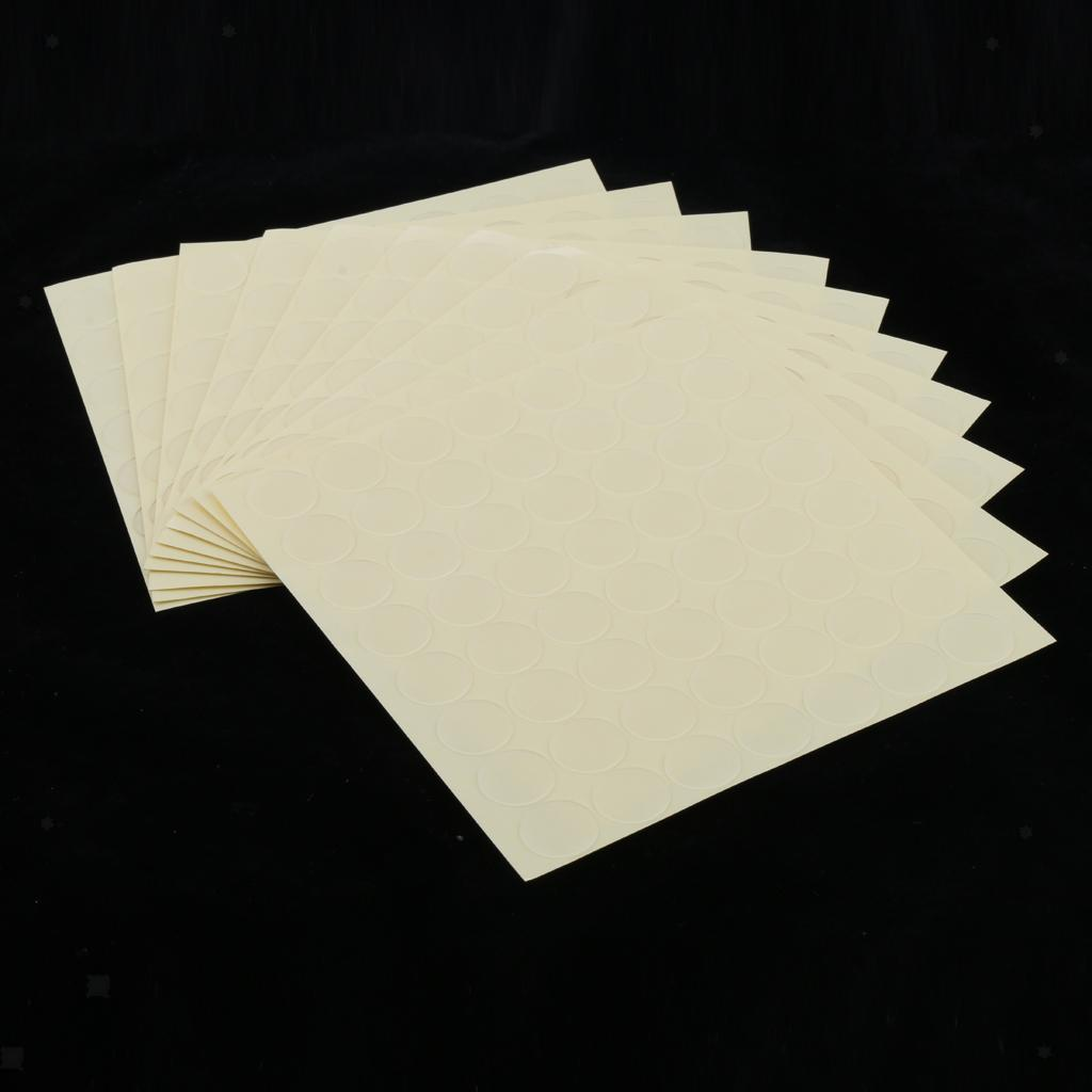 10 Sheets Double Sided Adhesive Tape High Strength Acrylic