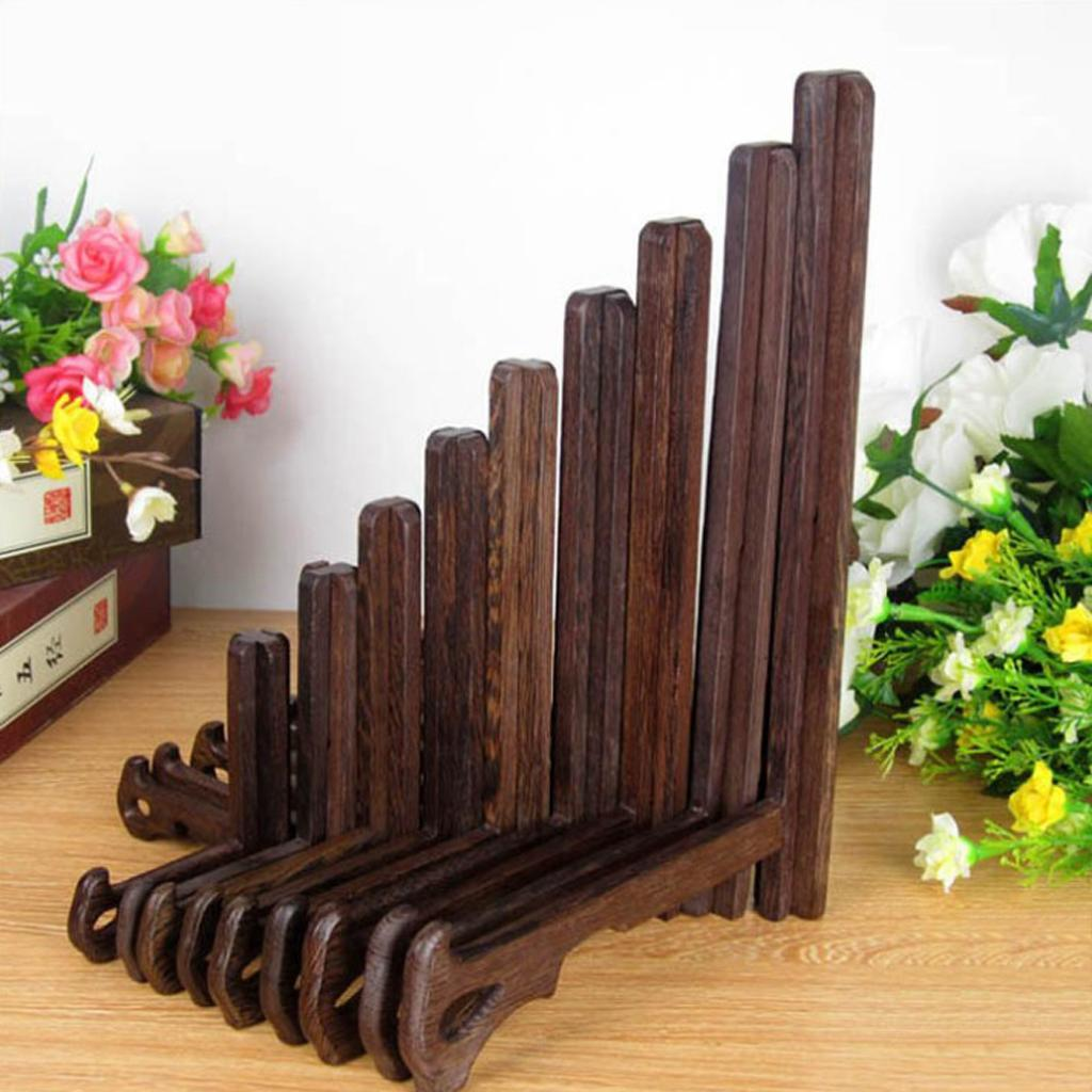 WOODEN-PLATE-STAND-DISPLAY-EASEL-4-10INCH-7-SIZES-For-PHOTO-PRIZE-PHOTO-ART thumbnail 4