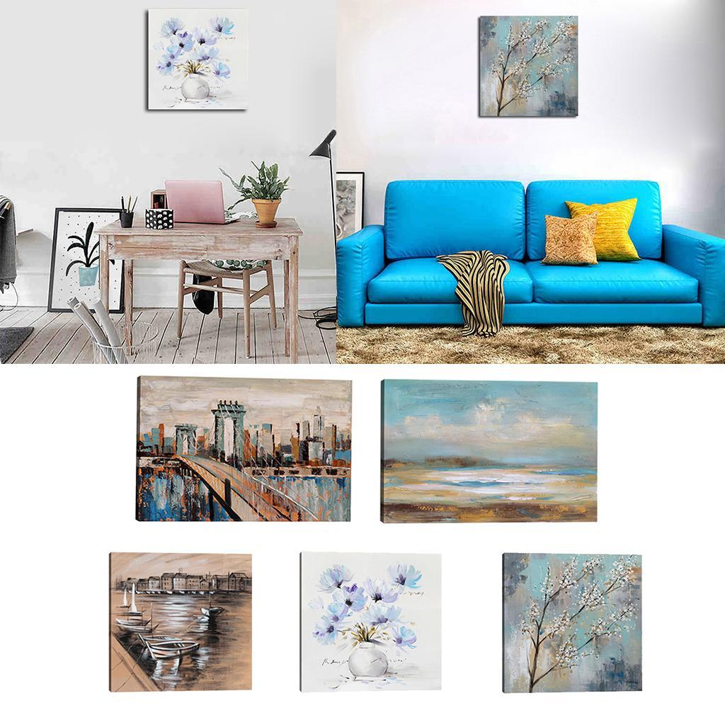 Colorful-Oil-Painting-Print-on-Canvas-Picture-Wall-Art-Decoration-Unframed thumbnail 4