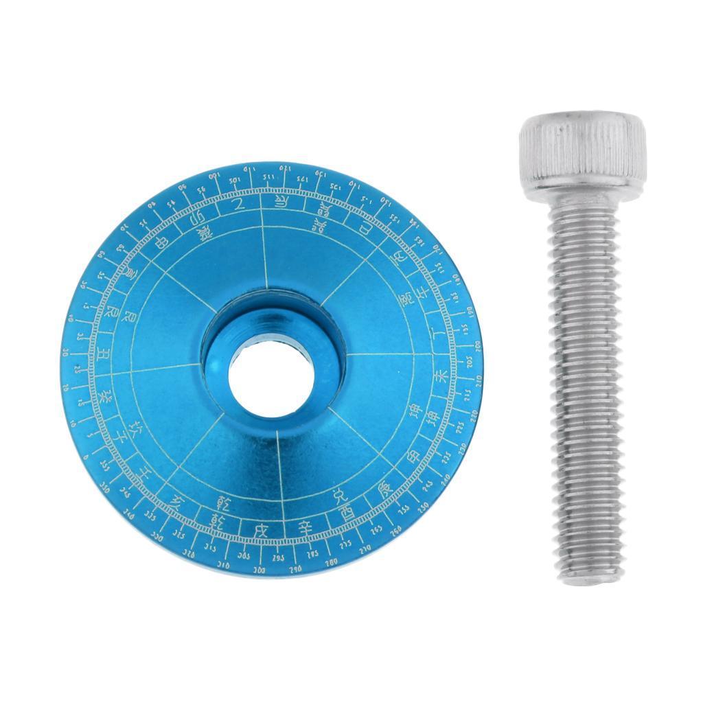Tappo-Forcella-Bici-in-Lega-di-Alluminio-Accessori miniatura 10